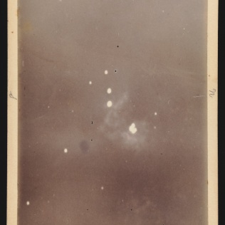 Photograph of a nebula